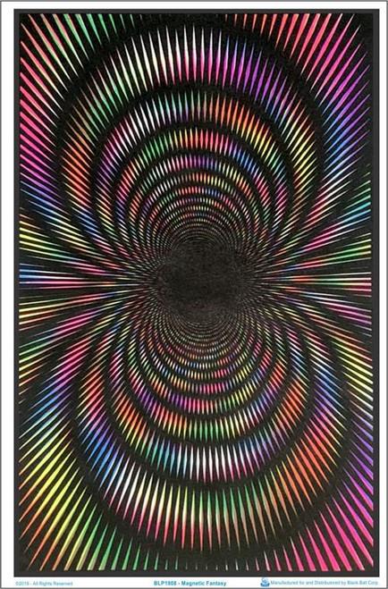 "Magnetic Fantasy Blacklight Poster - 35"" X 23"""