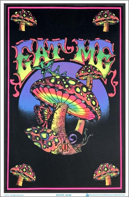 "Eat Me Blacklight Poster - 23"" X 35"""
