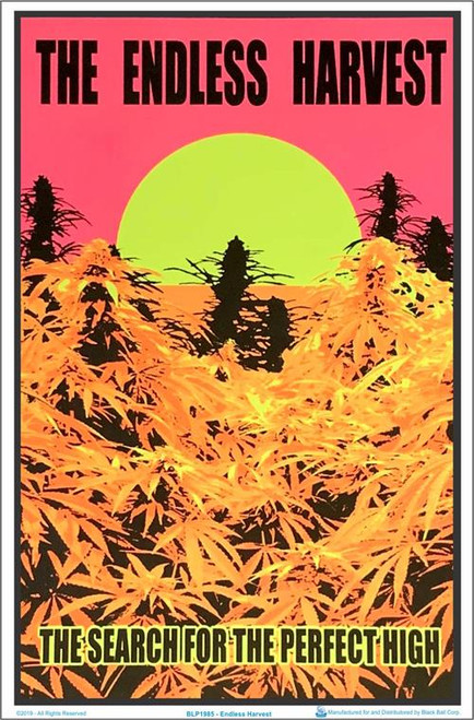 "Endless Harvest Blacklight Poster - 23"" X 35"""