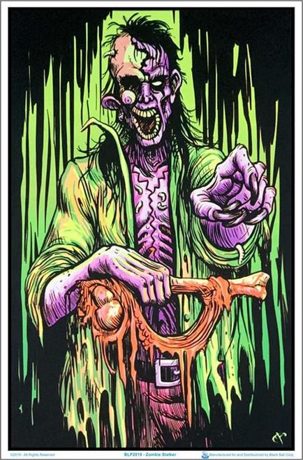 "Zombie Stalker Blacklight Poster - 23"" X 35"""