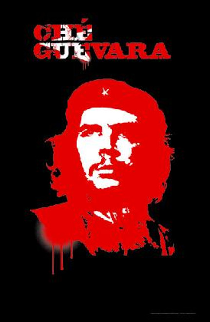 """Che Guevara - Blacklight Poster - 23"""" X 35"""""""