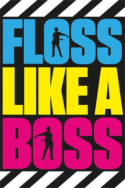 "Battle Royale Floss Like A Boss Poster - 24"" X 36"""