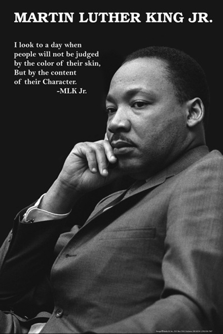 "Martin Luther King - Character Poster - 24"" X 36"""