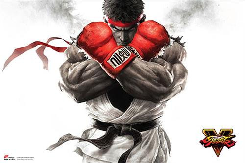 "Street Fighter V - Ryu Key Art  Poster - 36"" x 24"""