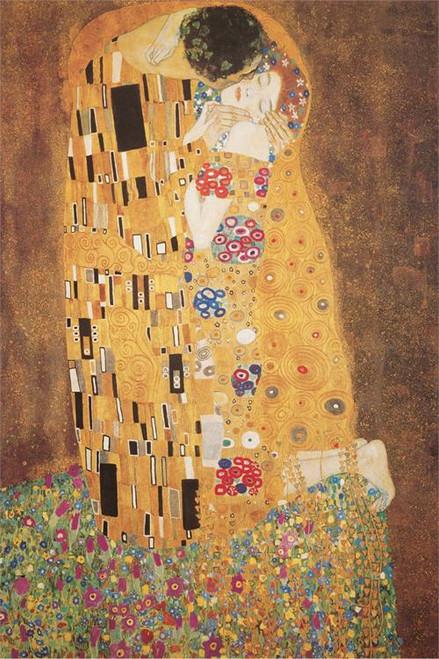 "Gustav Klimt The Kiss - Poster - 24"" X 36"""