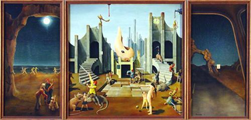"The Morrison Triptych - T.E. Breitenbeck Poster - 24"" X 36"""