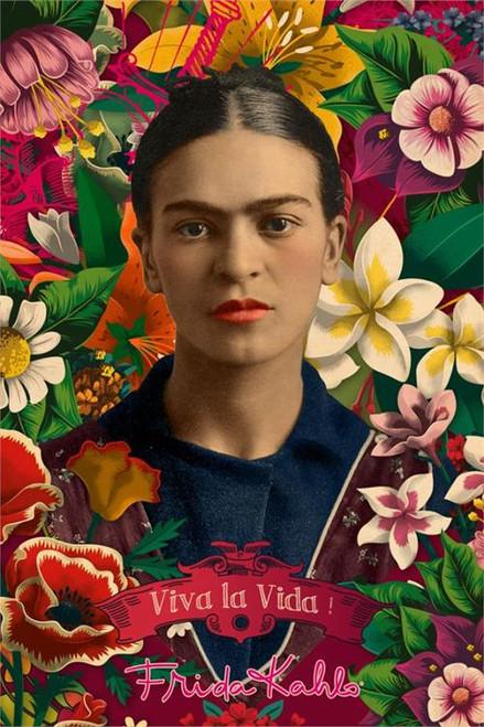 "Frida Kahlo Poster - 24"" x 36"""