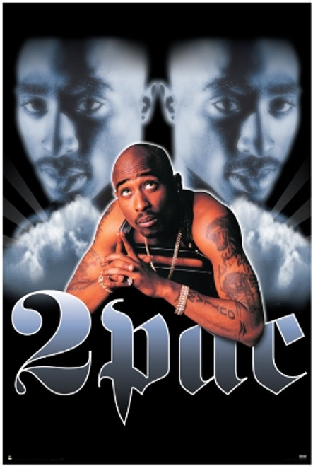 """Tupac/2Pac Giant Poster - 39"""" X 55"""""""