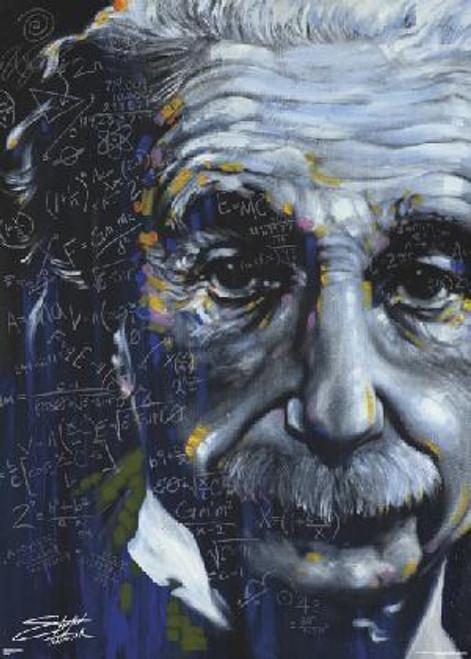"""Albert Einstein Giant Poster - 39 X 55"""""""