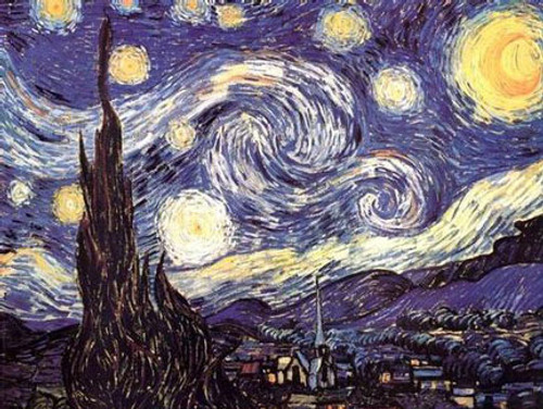 "Vincent Van Gogh Starry Night Giant Poster - 40"" X 53.5"""