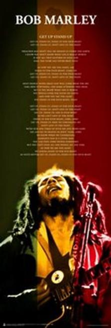 """Bob Marley Live  Door Poster - 21"""" X 62"""""""
