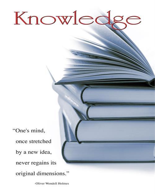 """Knowledge - 16"""" X 20"""""""