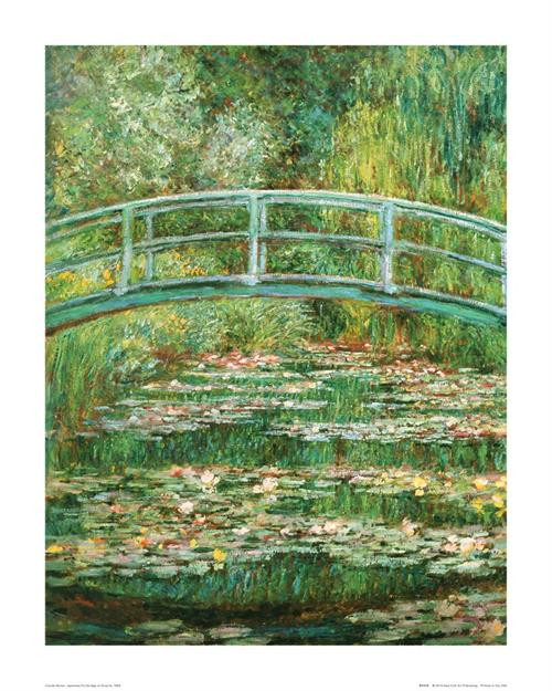 "Monet Japanese Footbridge - 16"" X 20"""