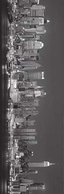 "The Silver City Slim Print - 12"" X 36"""
