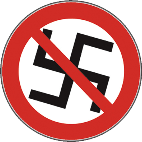 No Nazis - Sticker