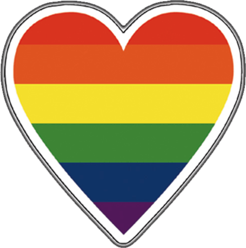 Big Heart Pride - Sticker