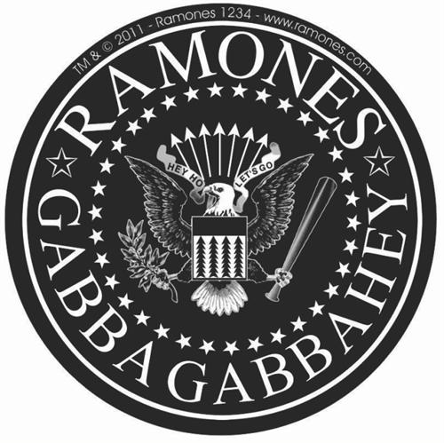 The Ramones Logo - Sticker