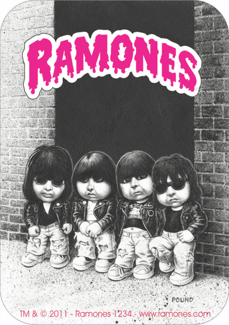 The Ramones Garbage Pail Kids - Sticker