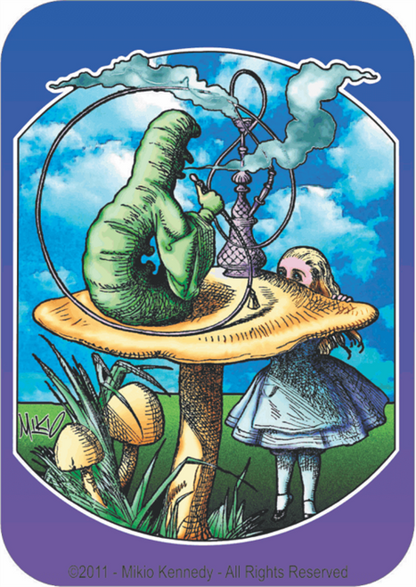 Alice By: Mikio Kennedy - Sticker