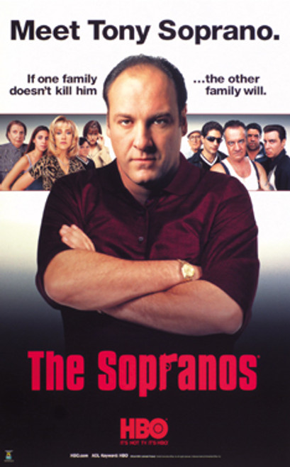 Sopranos Giant Poster