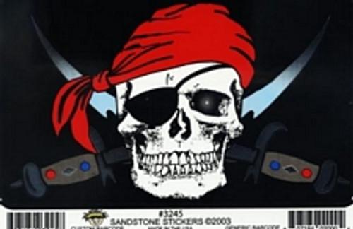 "Pirate - Large - 3"" X 5"" - Sticker"