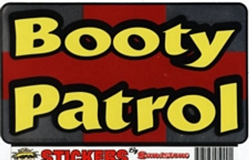 "Booty Patrol - Large - 3"" X 5"" - Sticker"