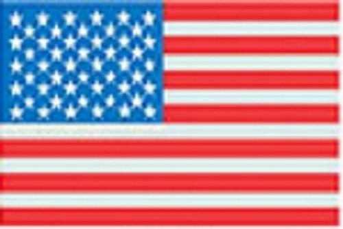 "U.S. Flag - Large - 3"" X 5"" - Sticker"