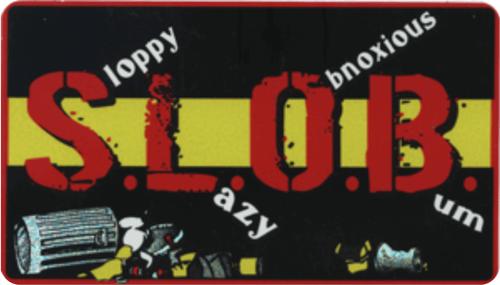 """S.L.O.B. - Large - 3"""" X 5"""" - Sticker"""