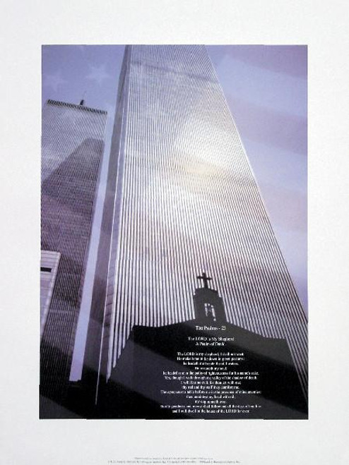 "World Trade Center - Psalm 23  - 16"" X 20"""