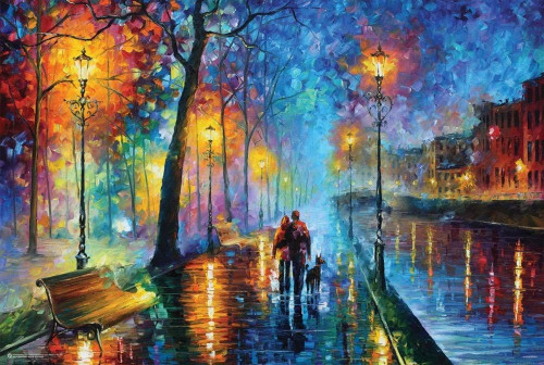 Melody of the Night by Leonid Afremov Poster 36x24
