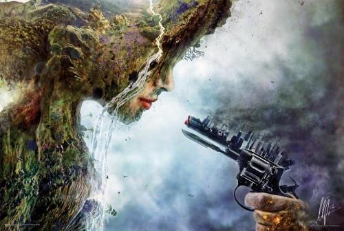 Betrayal by Mario Sanchez Nevado Poster 36x24 Inches