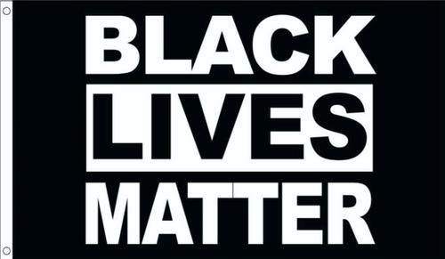 Black Lives Matter Fly Flag 3' X 5'