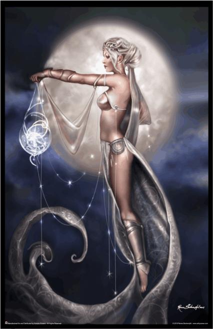 "Star Weaver by Renee Biertempfel Fantasy Mini Poster- 11"" x 17"""