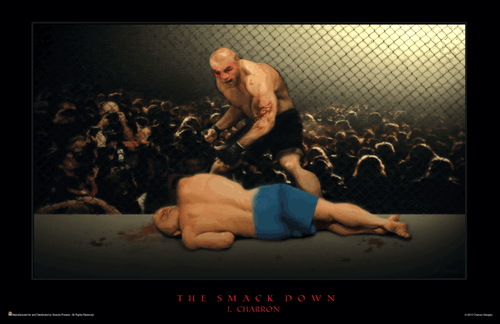 "Smack Down Mini Poster - 17"" x 11"""