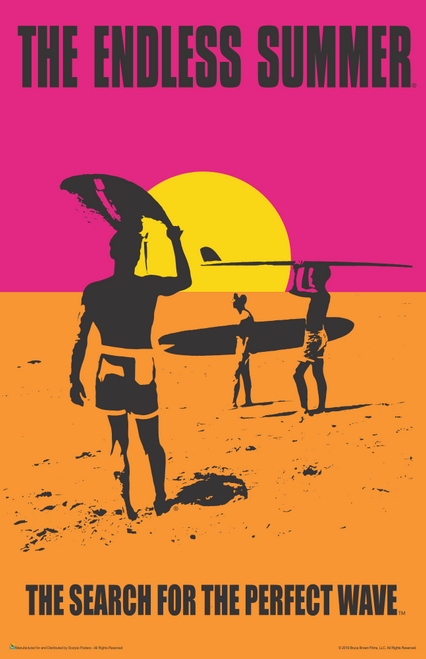 "The Endless Summer Movie Mini Poster- 11"" x 17"""