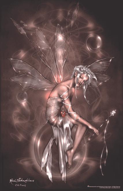 "Orb Fairy by Rene Beirtempfel Fantasy Art Print Mini Poster- 11"" x 17"""