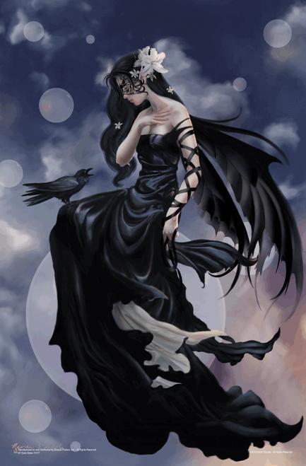 "Dark Skies by Nene Thomas Mini Poster - 11"" x 17"""