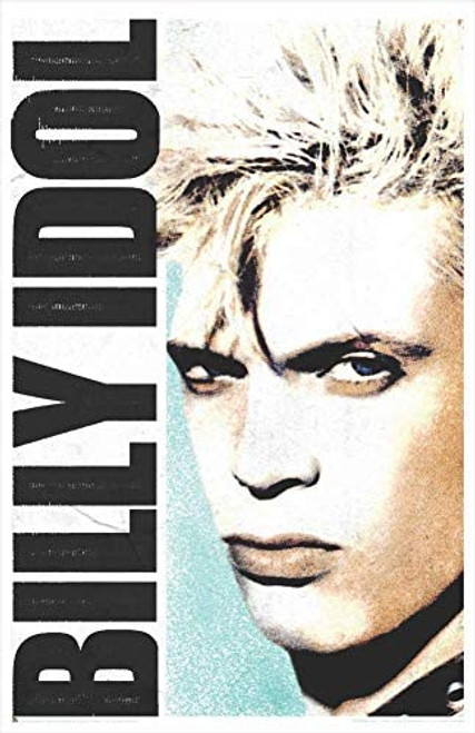 "Billy Idol Face Mini Poster - 11"" x 17"""