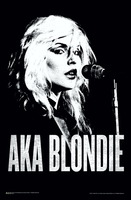 "AKA Blondie Mini Poster 11"" x 17"""