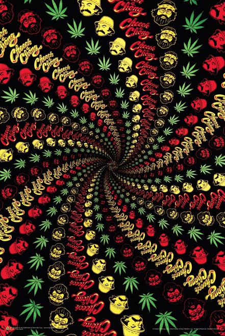 """Cheech & Chong Spiral Poster 24"""" x 36"""""""