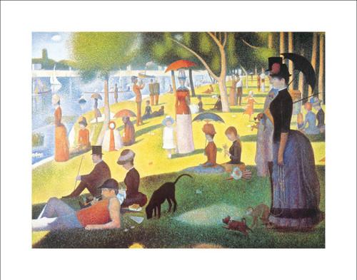 "La Grande Jatte by Seurat Poster - 28"" x 22"""