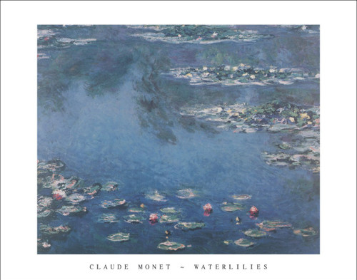 "Waterlilies by Monet Poster - 28"" x 22"""