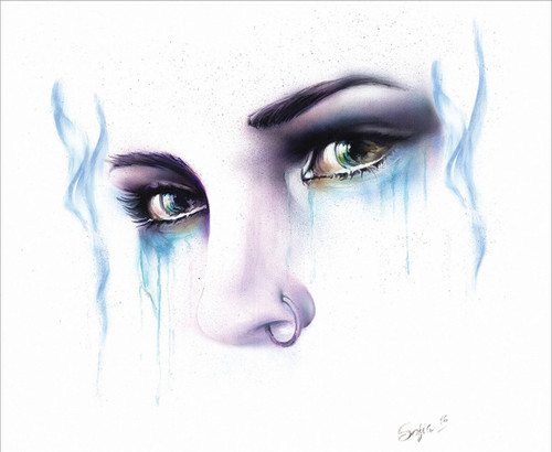 "Tears by Sophia Mini Poster - 14"" x 11"""