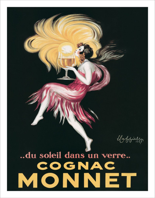 "Cognac Monnet by Cappiello 1920 Mini Poster - 11"" x 14"""