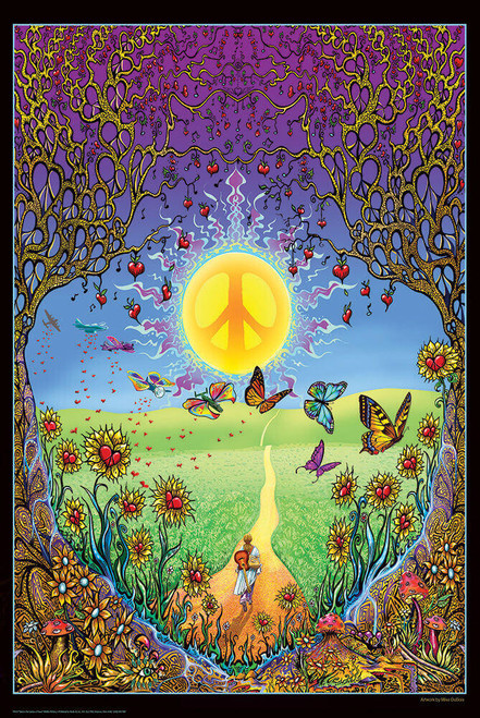 "Back to the Garden of Peace by Mike Dubois Poster 24"" x 36"""