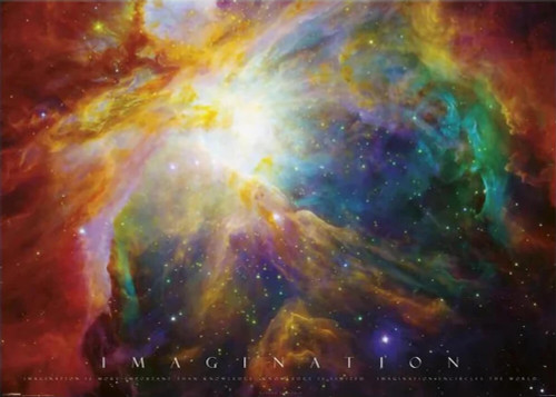 "Imagination - Nebula Giant Poster  55"" X 39"""