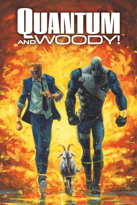 """Valiant - Quantum and Woody - Explosion Poster 24"""" x 36"""""""