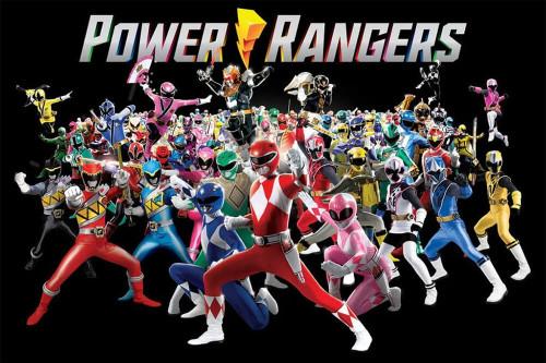 "Power Rangers - Power Group Poster 36"" x 24"""