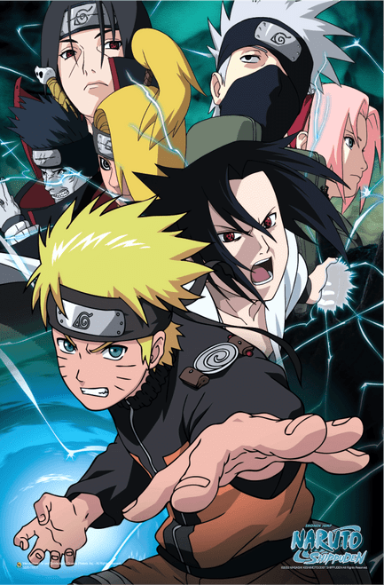 "Naruto Team 7 Mini Poster 11"" x 17"""