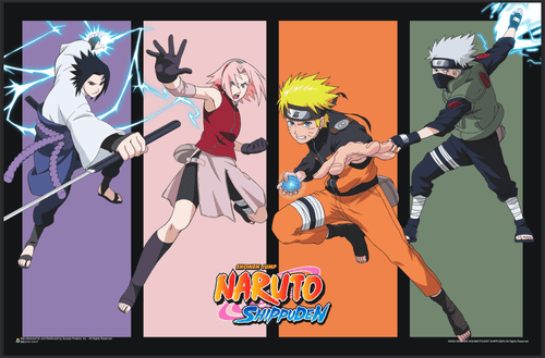 "Naruto Team 7 Mini Poster 17"" x 11"""
